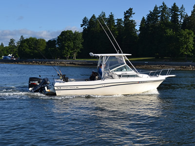 Big Fish Boat Rental -
