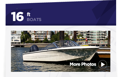 16ft Hourston Glascraft Boat Rental Vancouver