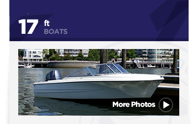 17ft Hourston Glascraft Boat Rental Vancouver