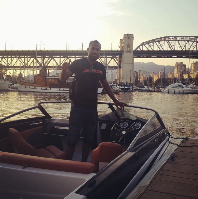 Kendall Waston at Granville Island Boat Rentals