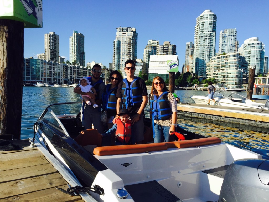 Pedro Morales brings more family boating