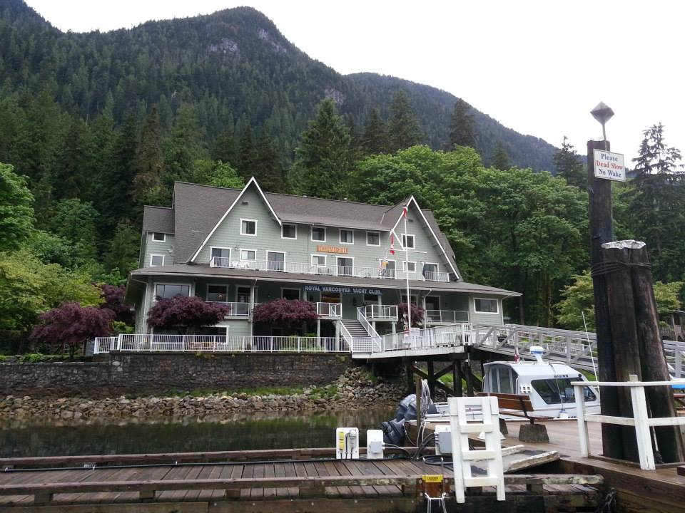 Rental boat at Wigwam Inn Indian Arm