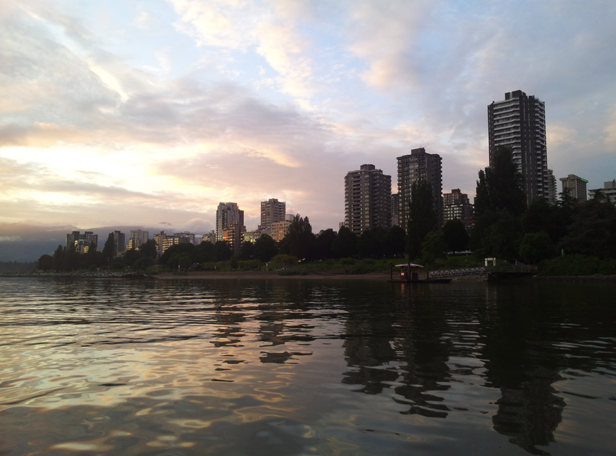 Boat rental at the West End vancouver