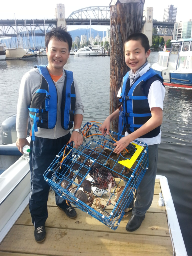 crabbing success