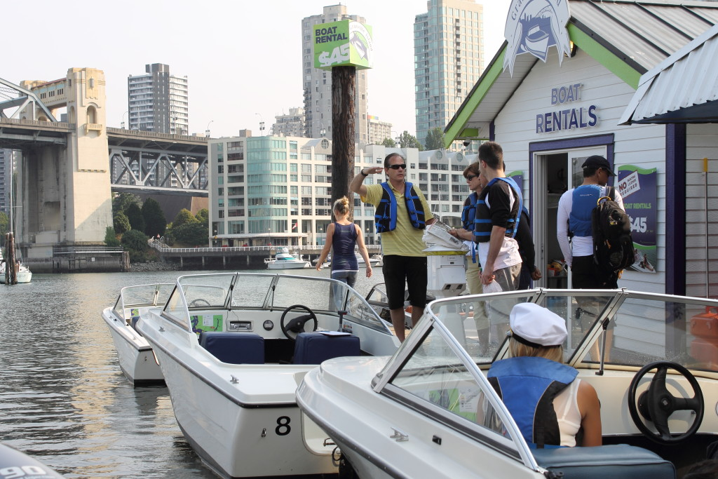 Granville Island Boat Rentals Corporate Event