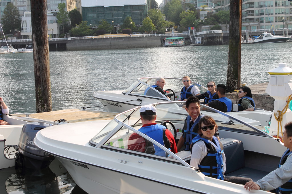 Granville Island Boat Rentals Corporate Events