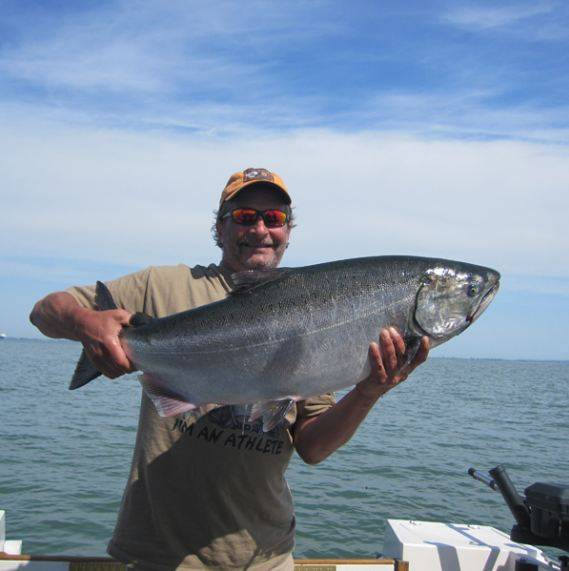A Big Catch on a Fishing Charter