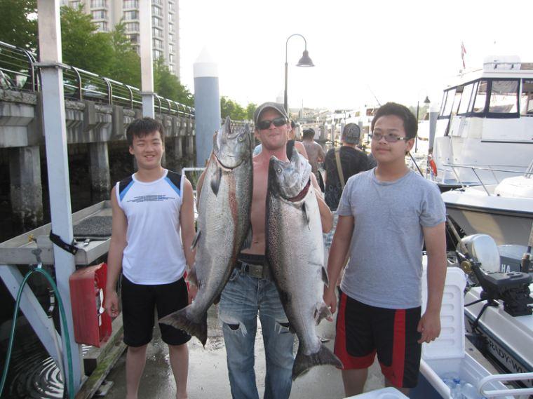 Fishing charter adventure