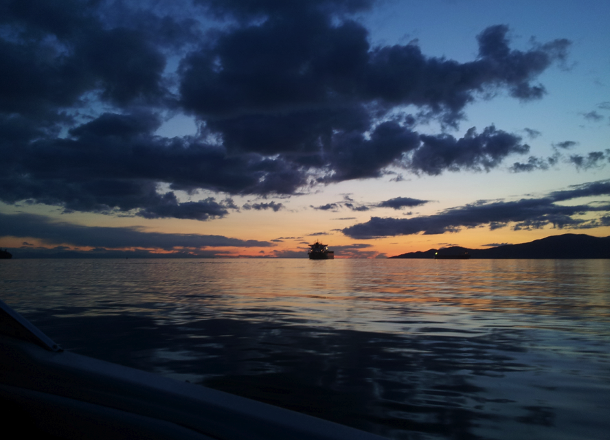 granville island boat rentals sunset