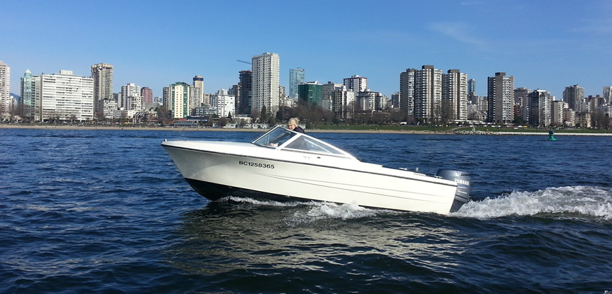 17ft hourston boat rental english bay